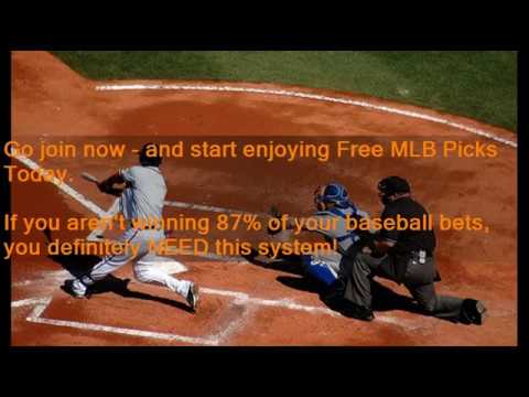 Free MLB Picks For Today - 87 68% Accurate Picks!