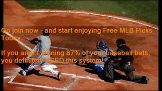 Free MLB Picks Today - Get Winning Free MLB Picks at MLB-PICKS.SITE - 87.68% Accurate Picks!