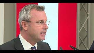 FPÖ: Hofer zur politischen Zukunft der Partei