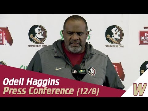 Warchant TV: Odell Haggins on Willie Taggart and bowl prep