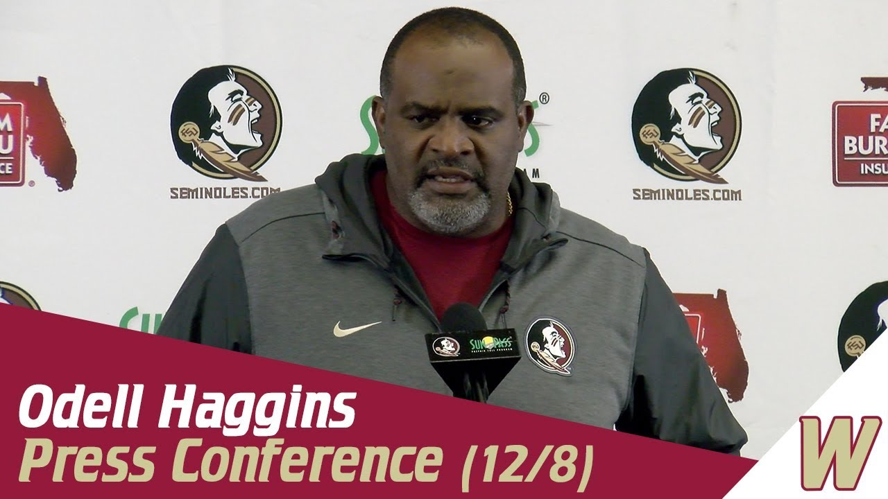 Warchant TV  Odell Haggins on Willie Taggart and bowl prep - YouTube a73d42959