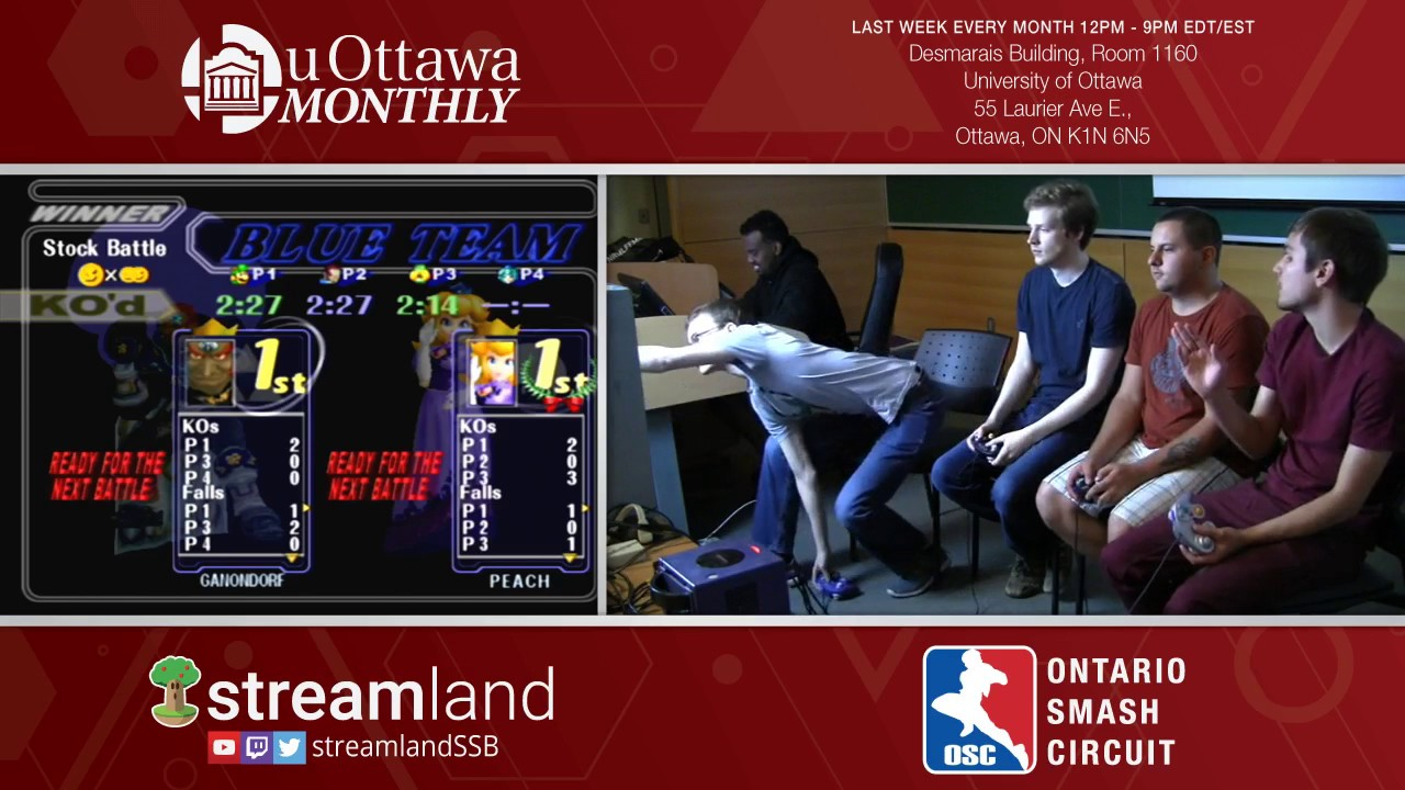 UOttawa Monthly 3 Doubles WF HVAC Vierance Vs WTF MitchBerryCrunch