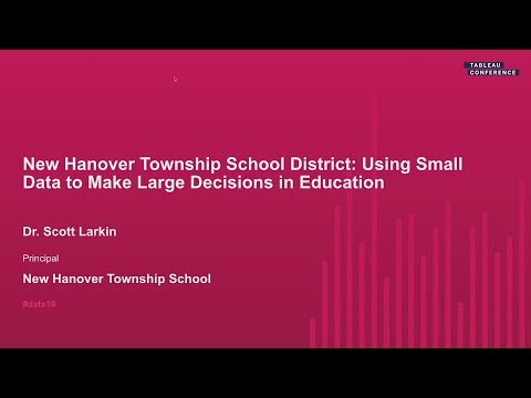 New Hanover Township School: Using Small Data to Drive Large Decisions in Education