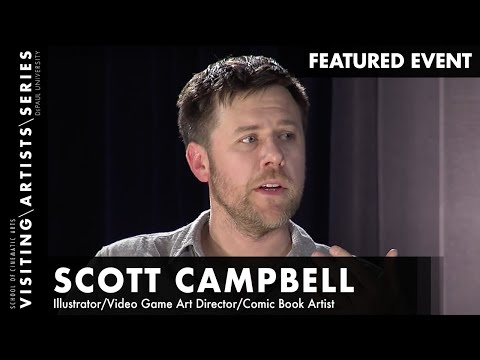 Scott Campbell, Illustrator, Video Game Art Director and Comic book Artist