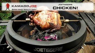 Kamado Joe JOETISSERIE Chicken!