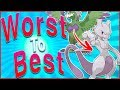 Ranking EVERY Legendary and Mythical Pokémon From Worst to Best