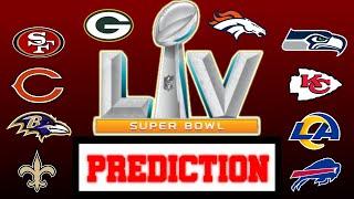 Predicting the ENTIRE 2020-2021 NFL Season (Accurate)