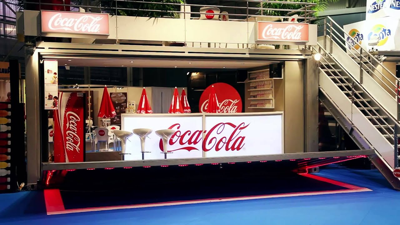 Container Ephémère : Coca Cola European Food 2013 - YouTube