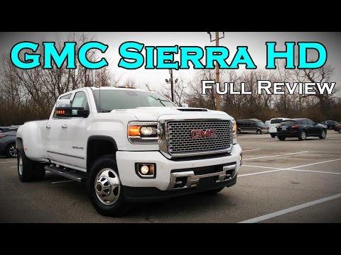 2017 GMC Sierra 2500HD / 3500HD: Full Review | SLE, SLT, Denali & Duramax Diesel