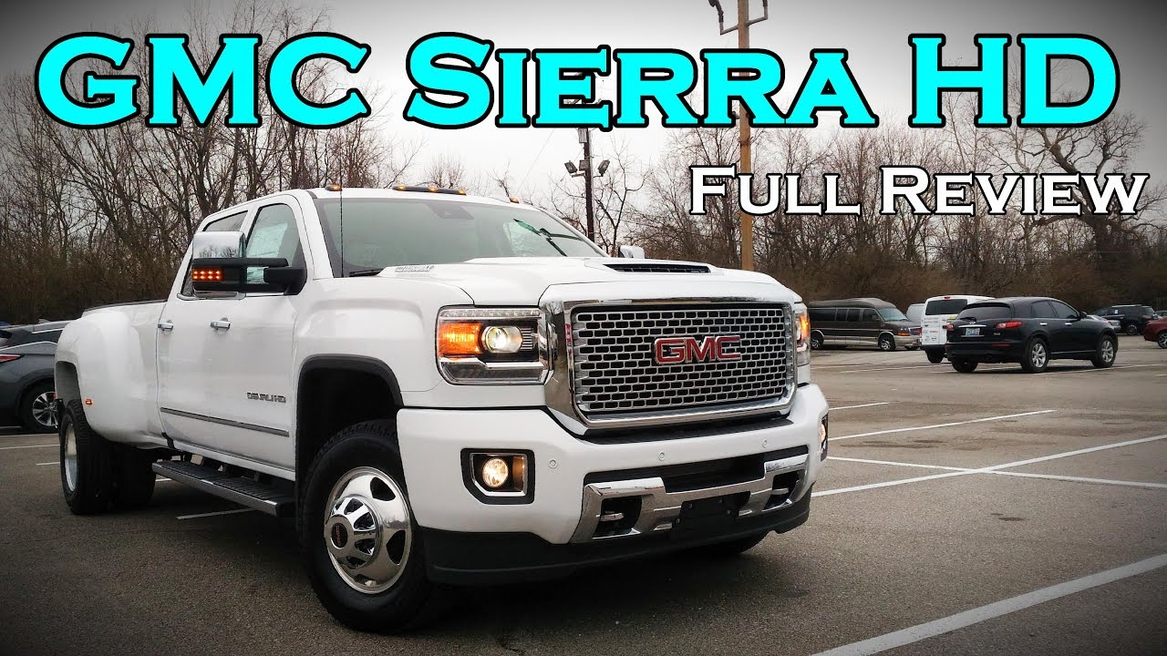 2017 gmc sierra 2500hd 3500hd full review sle slt. Black Bedroom Furniture Sets. Home Design Ideas