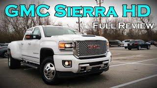 2017 GMC Sierra 2500HD / 3500HD: Full Review   SLE, SLT, Denali & Duramax Diesel