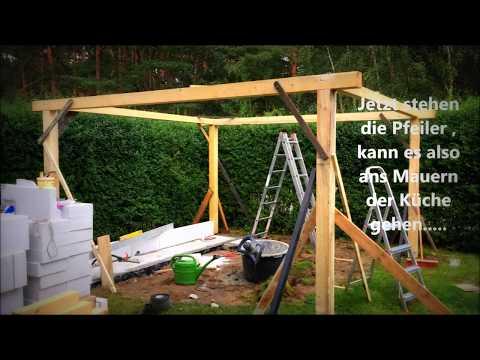 Outdoorküche selber bauen - YouTube