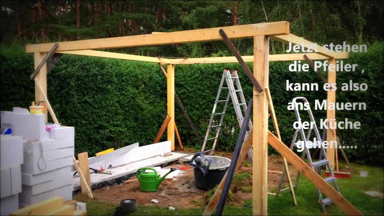 Outdoor Küche Für Den Garten : Outdoor küche im gartenhaus outdoor kitchen selber bauen