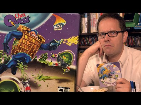 Chex Quest (PC) - Angry Video Game Nerd (AVGN)