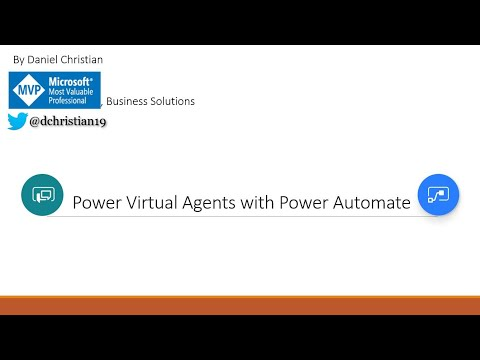 Power Virtual Agent with Power Automate