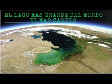 El lago mas grande del mundo , el Mar Caspio