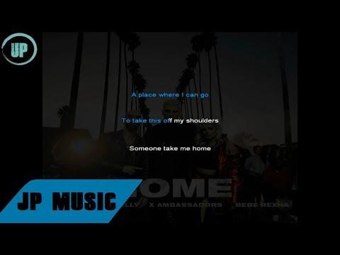 Machine Gun Kelly - Home (feat. X Ambassadors & Bebe Rexha) karaoke