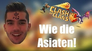 CLASH OF CLANS: Wie die Asiaten! ✭ Let's Play Clash of Clans [Deutsch/German HD]