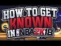 TOP 10 WAYS TO GET CLOUT IN NBA 2K18 - GAIN 100K SUBSCRIBERS!!!