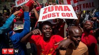 EFF shuts down Pretoria in ZumaMustFall march