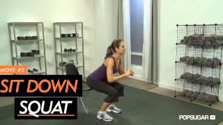 Фитнес урок  ноги, как у Виктории Бекхэм  Видео   Женский журнал ХОЧУ