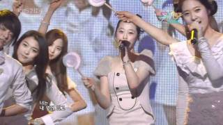 vuclip f(x) special - Kissing You w/ SNSD Sooyoung Seohyun Jan 1, 2010 1/2 GIRLS' GENERATION Live HD