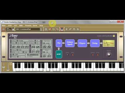 Arpy - VST synthesizer - factory presets demo