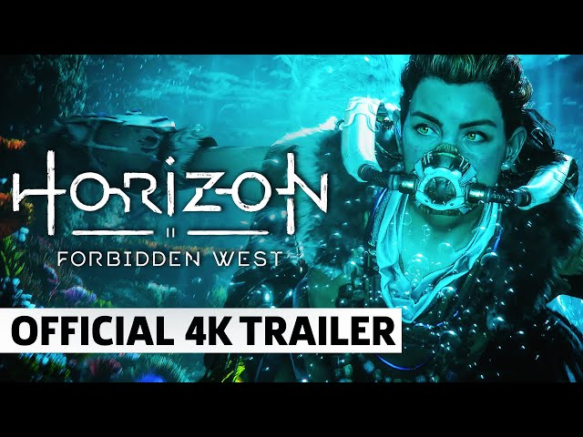 Horizon: Forbidden West - Official 4K World Premiere Announcement Trailer