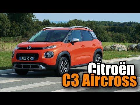 Essai Nouveau Citroën C3 Aircross 2017