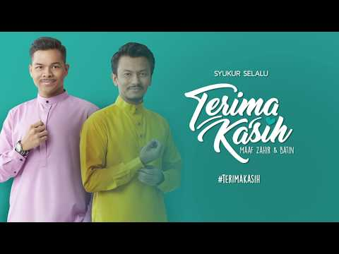 Terima Kasih (Official Audio) - Aizat Amdan & Faizal Tahir