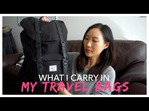 My Capsule Collection: Carry-on Backpack + Suitcase | Jenn Rogers