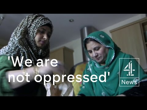 Muslim women on English language, integration and extremism