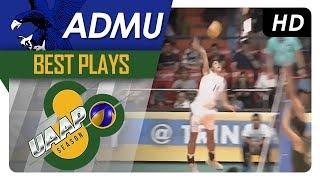 UAAP 80 MV: Marck Espejo nails thunderous cross-court hit! | ADMU | Best Plays