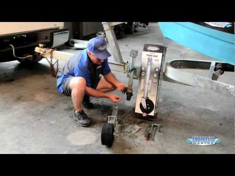 How to Mount a Swing-up Trailer Jack
