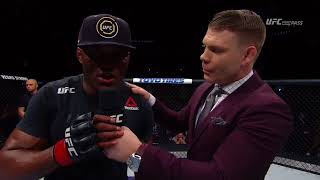 Fight Night St. Louis: Kamaru Usman Octagon Interview