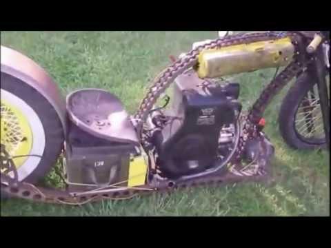 Moto Rat Rod Con Motor Villa 8 HP