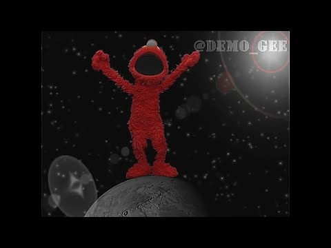 Elmo dancing to