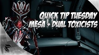 Warframe Quick Tip Tuesday: Except on a Sunday, Mesa Frenzy Combo