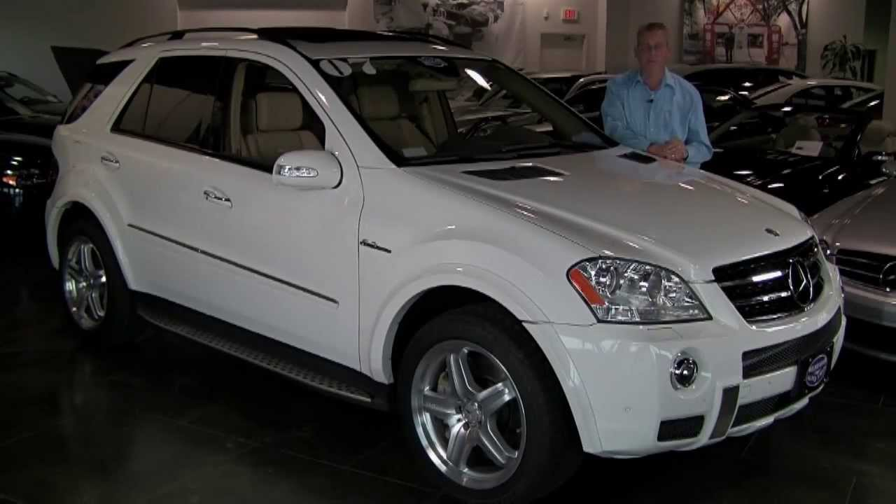 official review mercedes benz ml63 amg 2007 full review youtube. Black Bedroom Furniture Sets. Home Design Ideas