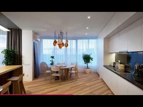 High Contrast Minimalist Apartment in Kiev