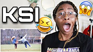 KSI- WHAT IS IT LIKE TO BE BLACK? REACTION 🤣😭   Favour