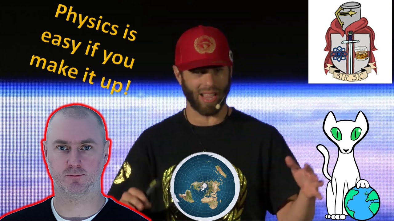 The worst speech of the Flat Earth conference wrecked. Ft Sir Sic
