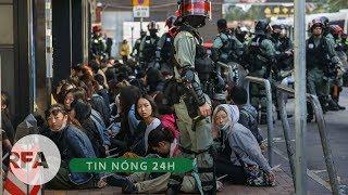 Tin tổng hợp | Cảnh sát Hồng Kông bắt giữ hàng chục người gần Đại học Bách Khoa