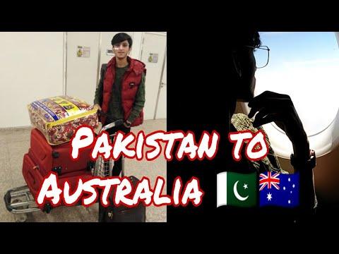 Pakistan To Australia    1st Flight Tips   international Student
