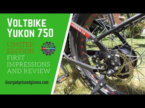 Voltbike Yukon 750 limited edition first impressions and review