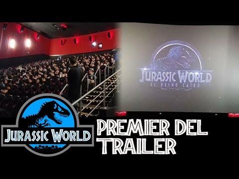 Premier del Trailer de Jurassic World 2