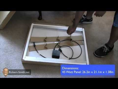UL SOLAR Professional Solar Panel Unboxing