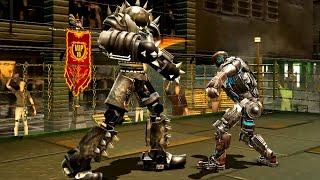 REAL STEEL WRB Hollowjack VS Aquabot & Atom & Camelot & Tackle