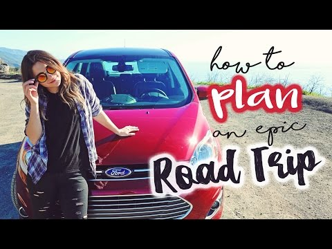 How to PLAN an EPIC ROAD TRIP