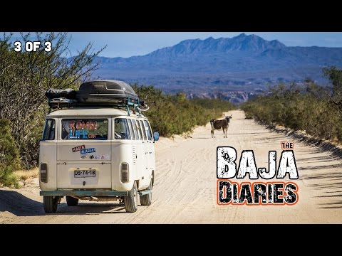 FREE CAMPING & TROUBLE in BAJA CALIFORNIA - Hasta Alaska - S04E09